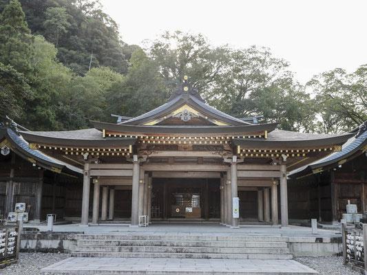 外拝殿の新築工事