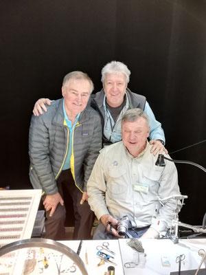 Gèrard Piquard, Adrian Bontza, Karl Flick