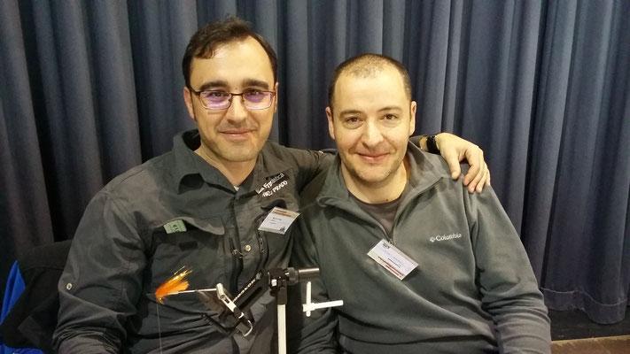 Die beiden Spanier Marcos Prado und  Juan Carlos Cambronero