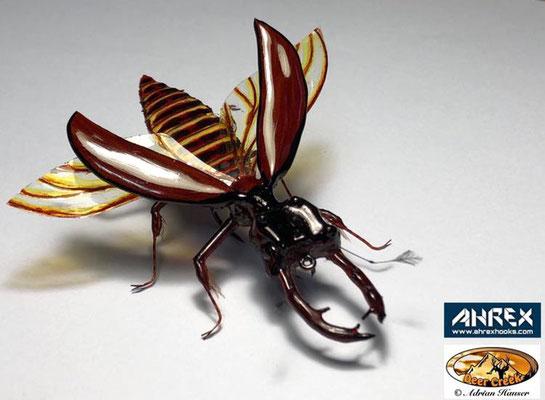 Hirschkäfer von Adrian Hauser - 3. Platz Realistische Fliegen
