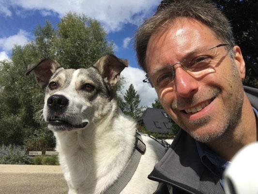 2017 Jörn Mohr mit Hund Stitch