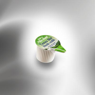 Deckelfolien von RATTPACK.eu AT / DE - optimal abgestimmt auf Ihr Produkt & Ihre Abpackmaschinen. Von Mono bis mehrlagig: Barriere & Verbundfolien für die Lebensmittelindustrie, Kondensmilchportionen