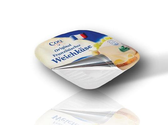 Flexible Verpackungen von RATTPACK.eu AT / DE - optimal abgestimmt auf Ihr Produkt & Ihre Abpackmaschinen. Von Mono bis mehrlagig: Barriere & Verbundfolien für die Lebensmittelindustrie - Deckelfolien für Käse und Joghurt