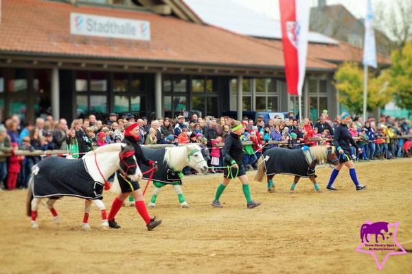 Team Shetty-Sport auf dem Dionysimarkt in Vilsbiburg