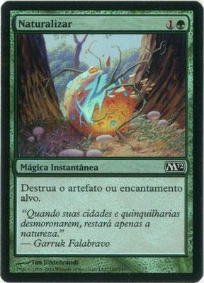 Naturalisieren Portugiesisch M12 foil