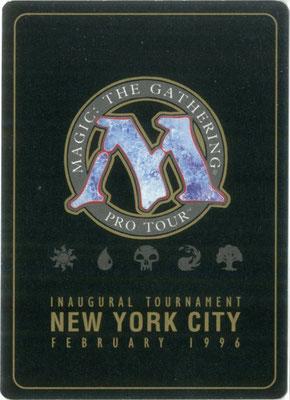 Entzauberung Pro Tour New York 1996 Decks Rückseite