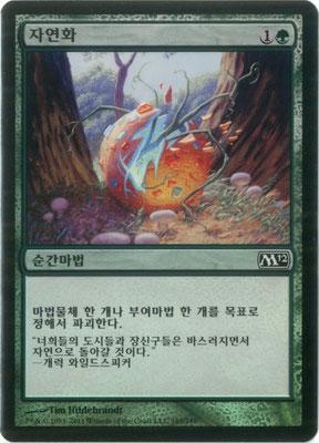 Naturalisieren Koreanisch M12 foil