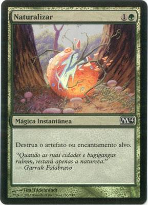 Naturalisieren Portugiesisch M14 foil