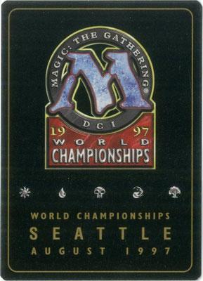 Entzauberung World Championships 1997 Decks Rückseite