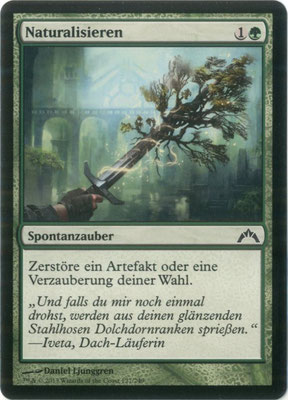 Naturalisieren Deutsch Gildensturm