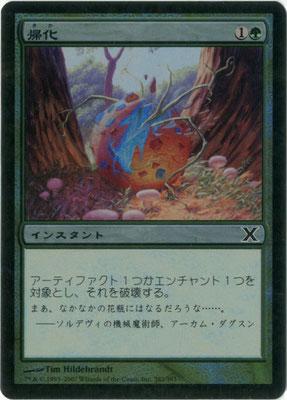 Naturalisieren Japanisch Zehnte Edition foil