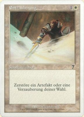 Entzauberung Deutsch Siebte Edition. Graustich.