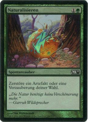 Naturalisieren Deutsch M11 foil