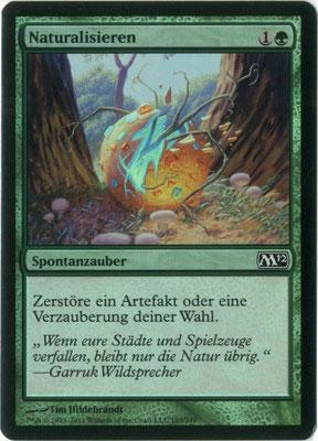 Naturalisieren Deutsch M12 foil