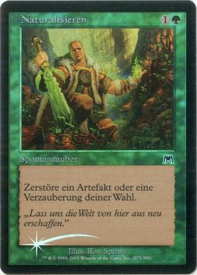 Naturalisieren Deutsch Aufmarsch foil