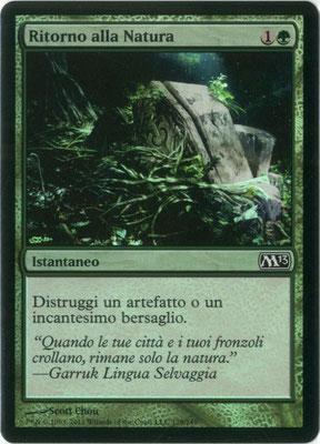 Naturalisieren Italienisch M13 foil