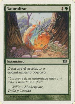 Naturalisieren Spanisch Achte Edition frontcut.