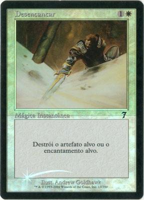 Entzauberung Portugiesisch Siebte Edition foil