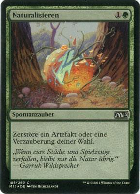 Naturalisieren Deutsch M15 foil
