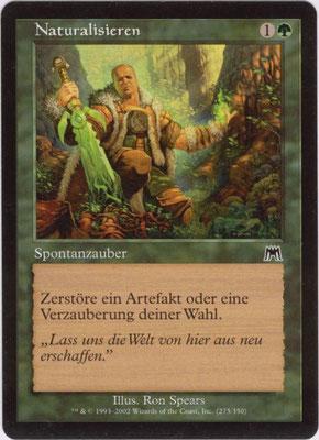 Naturalisieren Deutsch Aufmarsch frontcut. Aus Themendecks.