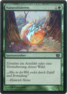 Naturalisieren Deutsch Achte Edition foil