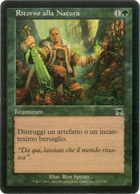 Naturalisieren Italienisch Aufmarsch frontcut. Aus Themendecks.