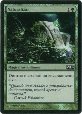 Naturalisieren Portugiesisch M13 foil. Hergestellt in den USA.