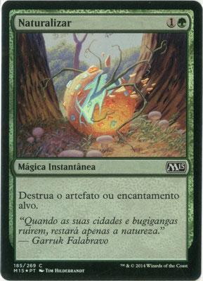 Naturalisieren Portugiesisch M15 foil