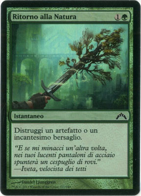 Naturalisieren Italienisch Gildensturm foil