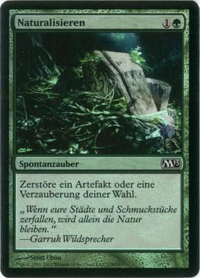 Naturalisieren Deutsch M13 foil