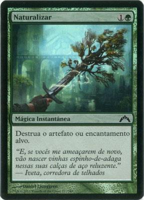 Naturalisieren Portugiesisch Gildensturm foil. Hergestellt in den USA.