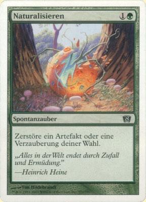 Naturalisieren Deutsch Achte Edition frontcut. Aus Themendecks.
