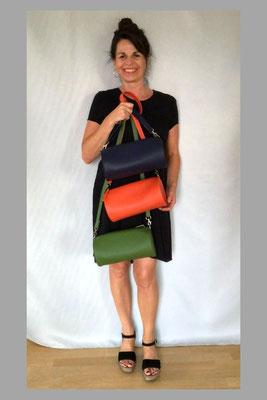 Duffle Bags auch erhältlich in ocean-blue, orange und grün