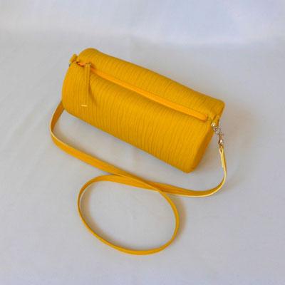 Duffle Bag yellow with Zebra
