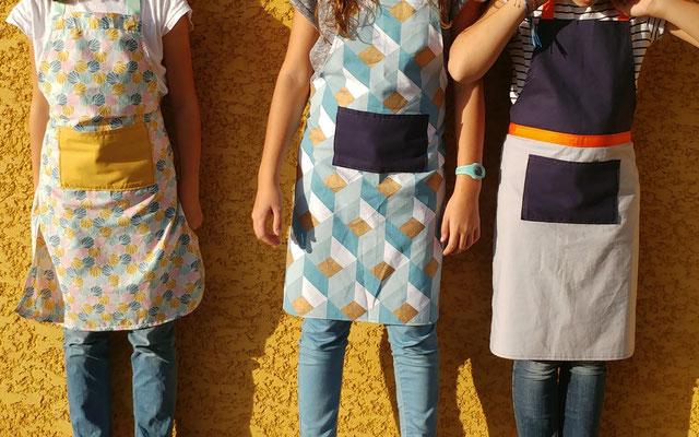 Les Ateliers de Blanche Atelier couture enfants, ados, adultes, activité stage enfant La Balme de Sillingy Annecy 74 créatifs diy Tablier