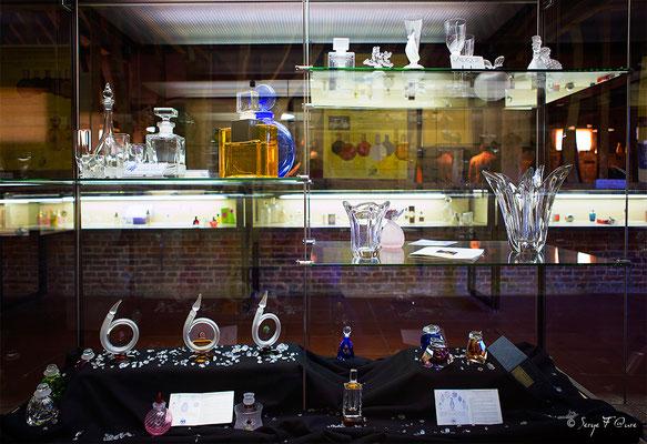 Façades et vitrines - Musée du verre à Blangy/Bresle Normandie - par Serge Faure