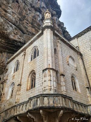 du grand couvent de Gramat à Rocamadour dans le Lot