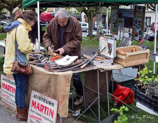 Foire de Giat (le rémouleur - affûteur) - Auvergne - France (2017)