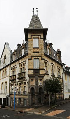 Maison typique rue d'Arras - La Bourboule - Auvergne - France
