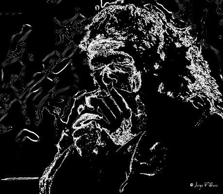 Portrait au trait par Serge Faure