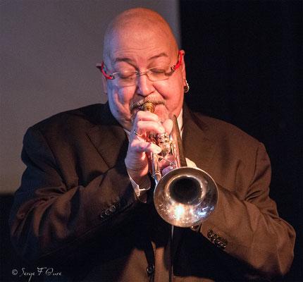 Patrick Artero (trompette) - 26ème Festival de jazz 2015 (Sancy Snow Jazz) Le Mont Dore - Auvergne - France