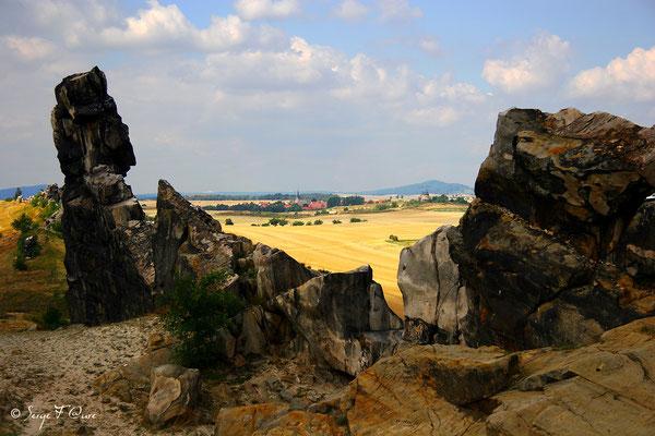Le mur du Diable - Le Harz - Allemagne - (le vrai pays des sorcières)