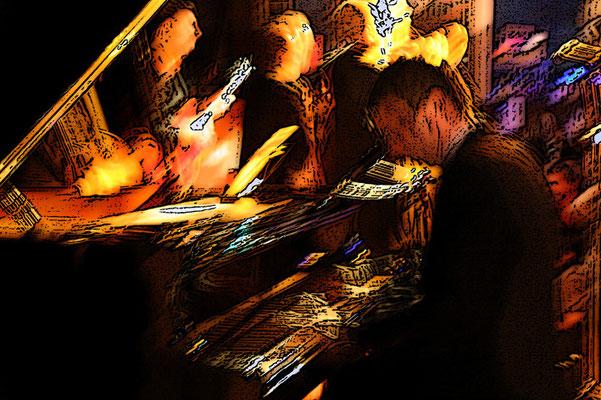 "Piano chant: Matthieu Boré / Matthieu Boré ""Fats Domino's True Spirit"" / SancySnowJazz 2009"