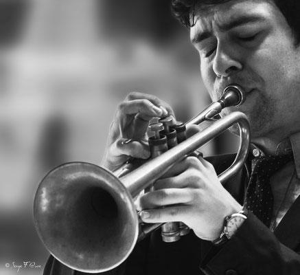 Malo Masurié (trompette) - 26ème Festival de jazz 2015 (Sancy Snow Jazz) Le Mont Dore - Auvergne - France