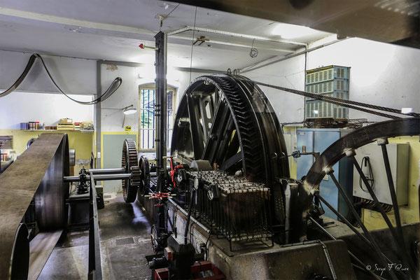 Machinerie du Funiculaire - Le Mont Dore - Massif du Sancy - Auvergne - France