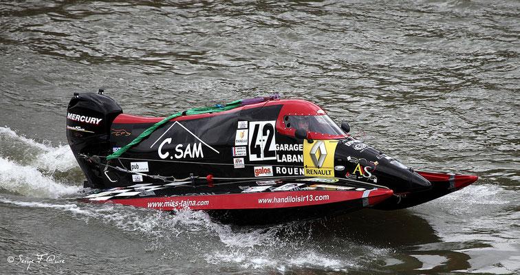 24 heures motonautiques de Rouen 2013 (50ème édition)