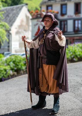 """""""La virée du pèlerin gourmand"""" à Orcival - Auvergne - France"""