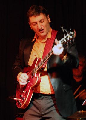 "Guitare: Stan Noubard Pacha / Matthieu Boré ""Fats Domino's True Spirit"" / SancySnowJazz 2009"