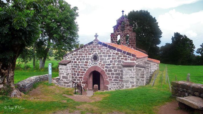 Chapelle St Roch à Montbonnet - France - Sur le chemin de St Jacques de Compostelle (santiago de compostela) - Le Chemin du Puy ou Via Podiensis (variante par Rocamadour)