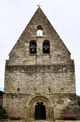 Église catholique à Saint-Antoine - France - Sur le chemin de Compostelle